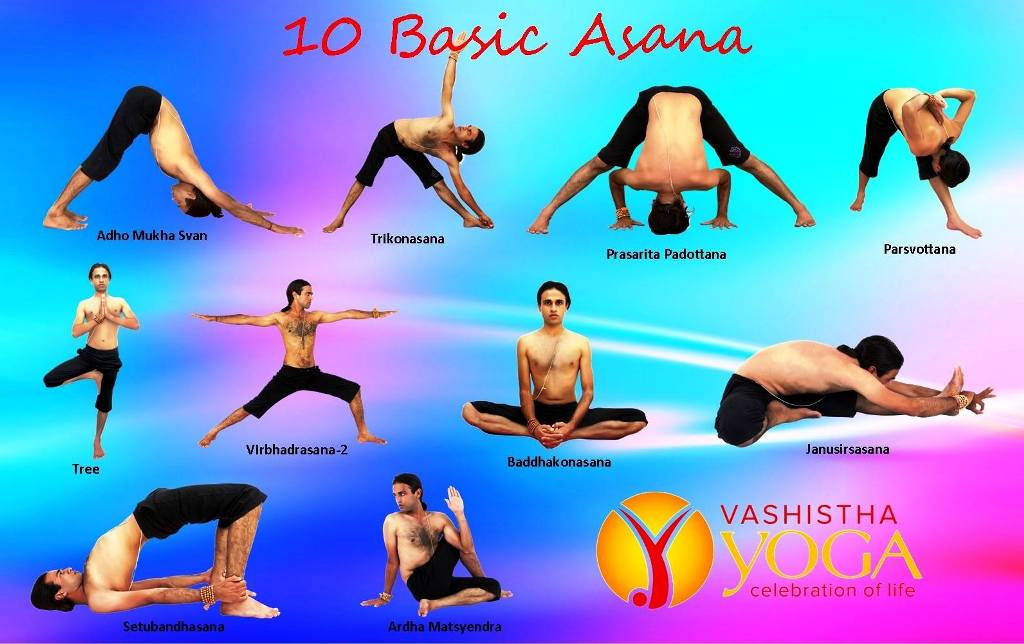 10 Basic Asana Yoga Poses For Beginners
